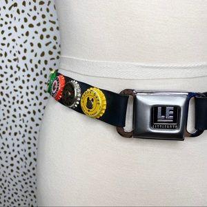 Little Earth Seatbelt Bottle Cap Belt
